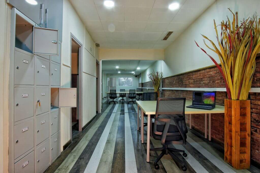 Un espai de treball agradable i molt profesional