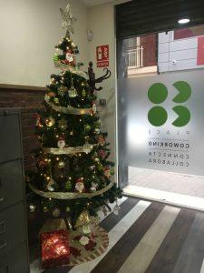 La navidad ha llegado al coworking Coco Place y los coworkers lo hemos celebrado